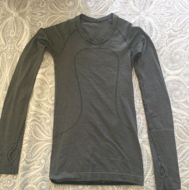 Size 2 Long Sleeved Lululemon Top