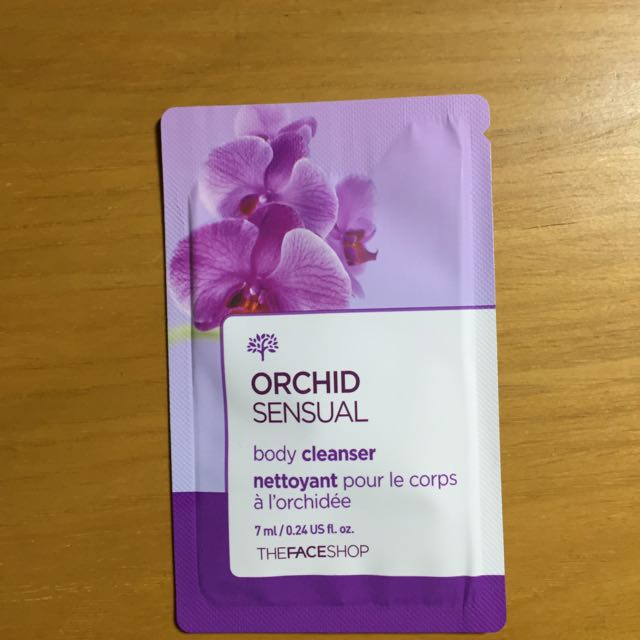 The face shop orchid sensual body cleanser (sample size)