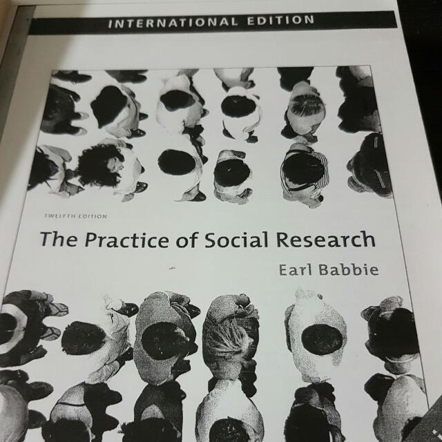 (reserved) The Practice of Social Research