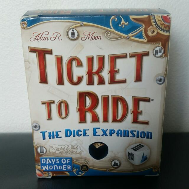 Ticket To Ride The Dice Expansion (Days Of Wonder)