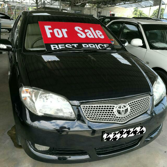 Toyota Vios 1 5E, Cars, Cars for Sale on Carousell