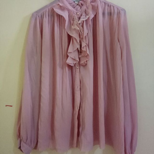 Vintage Blouse (dusty Pink)