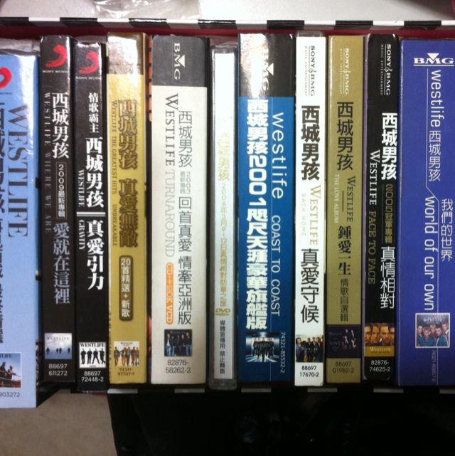 西城男孩westlife 歷年專輯cd