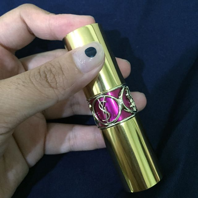 YSL  Rouge Volupte Shine 33 唇膏  桃紫色