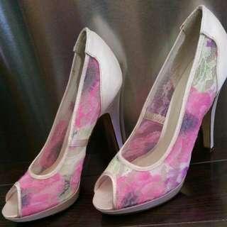 Spring Peep Toes - Floral
