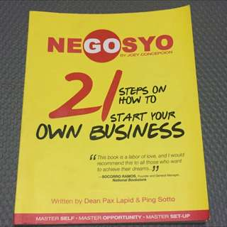 GoNegosyo 21 Steps on How to Start Your Own Business