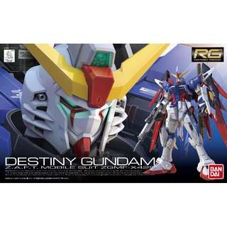 RG 1/144 Destiny Gundam Gunpla Model Kts