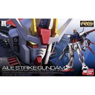 RG 1/144 Aile Strike Gundam Gunpla Model Kits