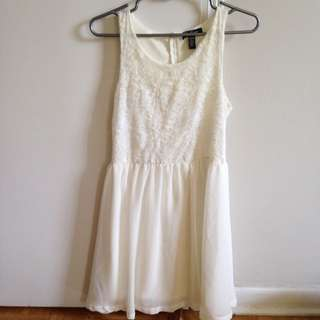 White Lace Urban Planet Dress