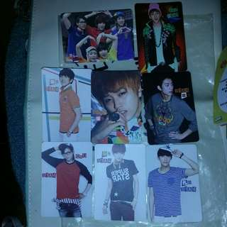 B1A4 Yes Card