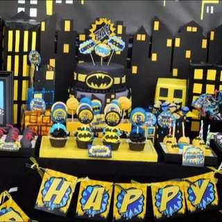 Batman Personalised Birthday Package