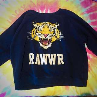 RAWR crew neck