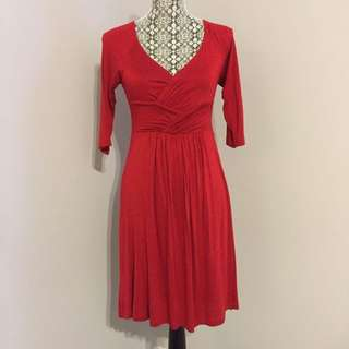 BRAND NEW Red Dress (Anthropologie)