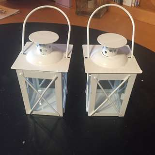 2 x Tea Light Candle Holders