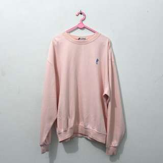 Baby Pink Polo Sweater
