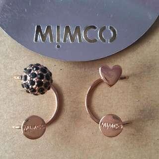 Mimco Rose Gold Ear Cuffs