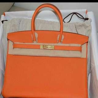 Hermes Birkin Orange
