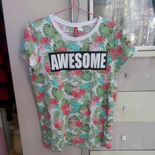 H&M Awesome Tee