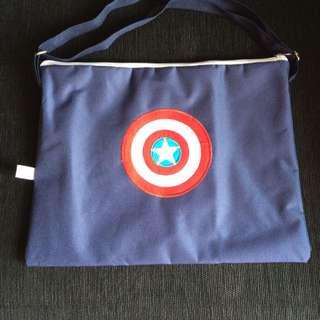 Tas Blue Navy Captain America