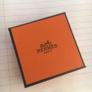 Hermes Square Scarf Ring