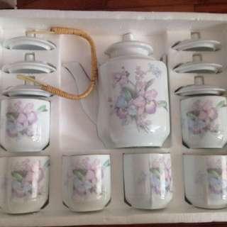 Snow White China Tea Set