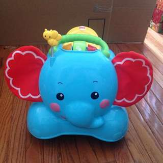 Fisher Price Bouncy And Ride Elephant