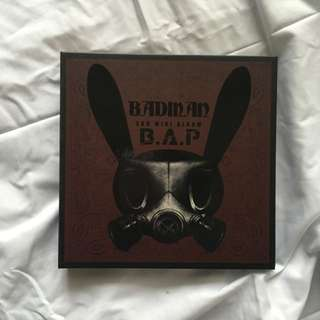 BAP's Badman The Third Mini Album.