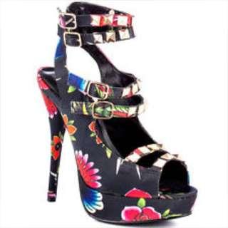 Iron Fist Platform Heels