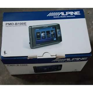 Alpine PMD-B100E GPS + PMD-DOK1E + PMD-ANT1E