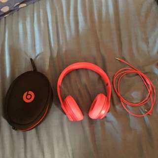 Pink Beats Solo 2 Not Wireless