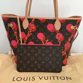 Authentic Louis Vuitton Neverfull MM Ramages