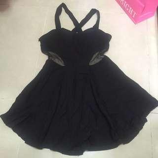 黑色派對裙 性感
