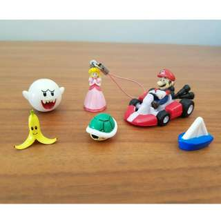 Super Mario Figurine Collection Set