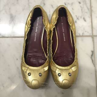 Marc By Marc Jacobs Mouse Flats Size 37.5