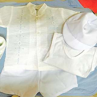 Baptismal Outfit For Boy