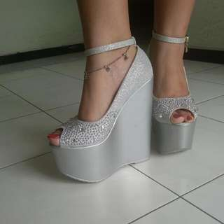 Silver Wedges (Free Ongkir/ Nego price)