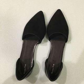 Massimo Dutti Real Leather Flat (new)