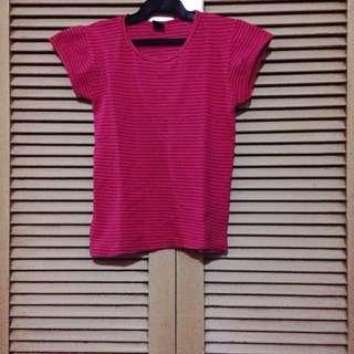 Bertoni Style Striped Shirt