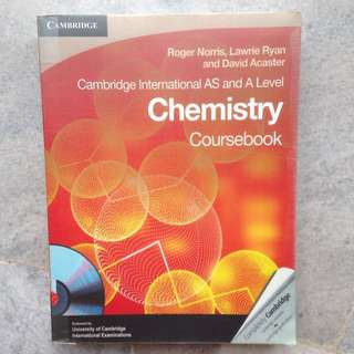 Cambridge AS and A Level Chemistry Textbook