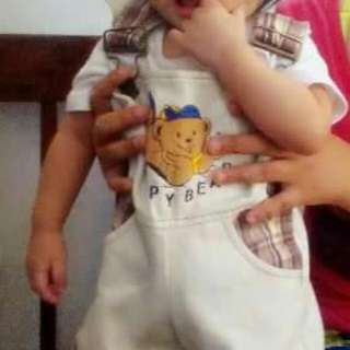 Baby Bear Jump Suit