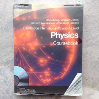 Cambridge AS and A Level Physics Textbook