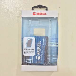 Krusell Kivik Clear Case for iPhone 6/6s