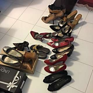 Variety Of Shoes