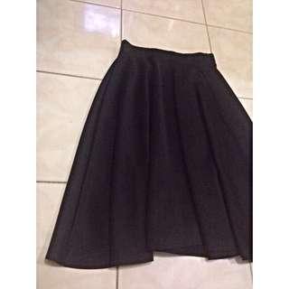 Skirt Black, masih bagus dan baru 3x pakai