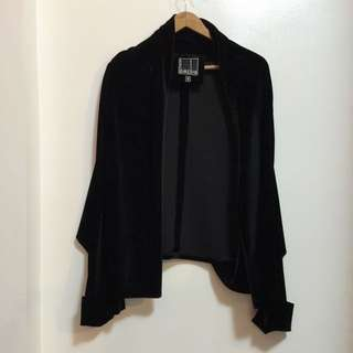 Elegant Velvet Shrug From Barba (S To M)
