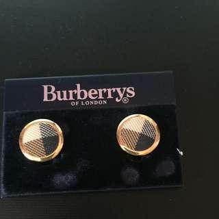 Burberry Clip Earrings