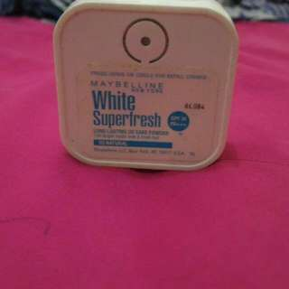 Maybelline Super White Fresh Two Way Cake Spf 34++