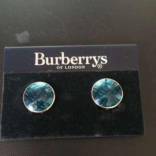Burberry 夾耳環