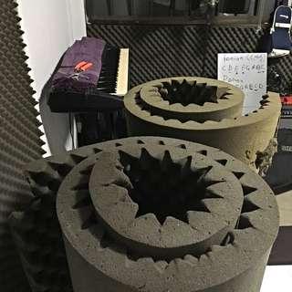 Acoustic Foam. 2 Rolls