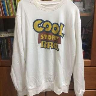COOL STORY BRO tumblr sweater